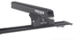 #JA9106 - Heavy Duty RLTP Trackmount Black 2 Bar Roof Rack | Rhino-Rack