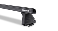 Heavy Duty ROC25 Black 2 Bar Roof Rack