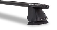 Vortex 2500 Ditch Mount Black 2 Bar Roof Rack