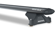 Vortex RLTP Black 2 Bar Roof Rack