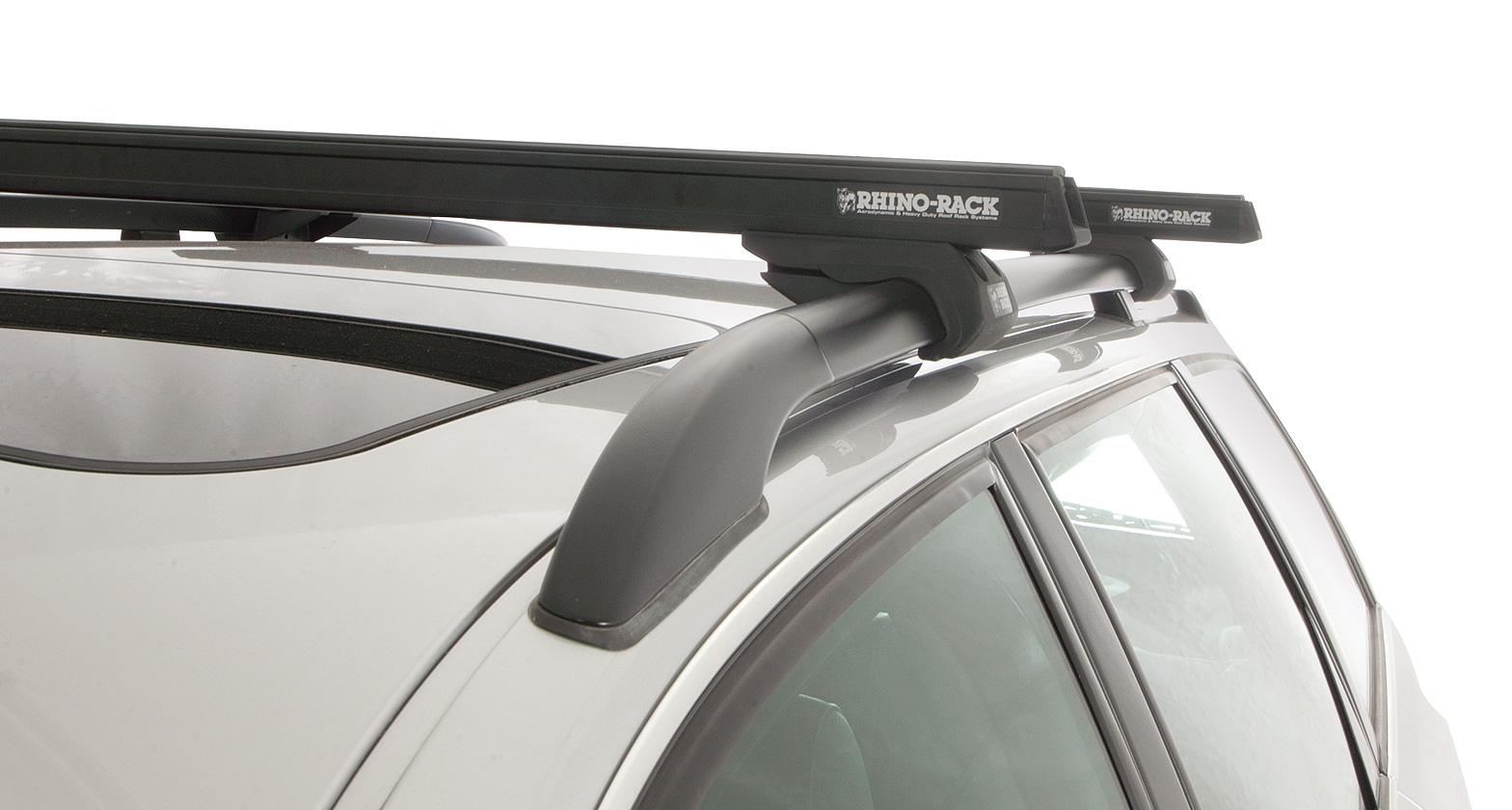 Ja0478 Heavy Duty Cxb Black 2 Bar Roof Rack Rhino Rack