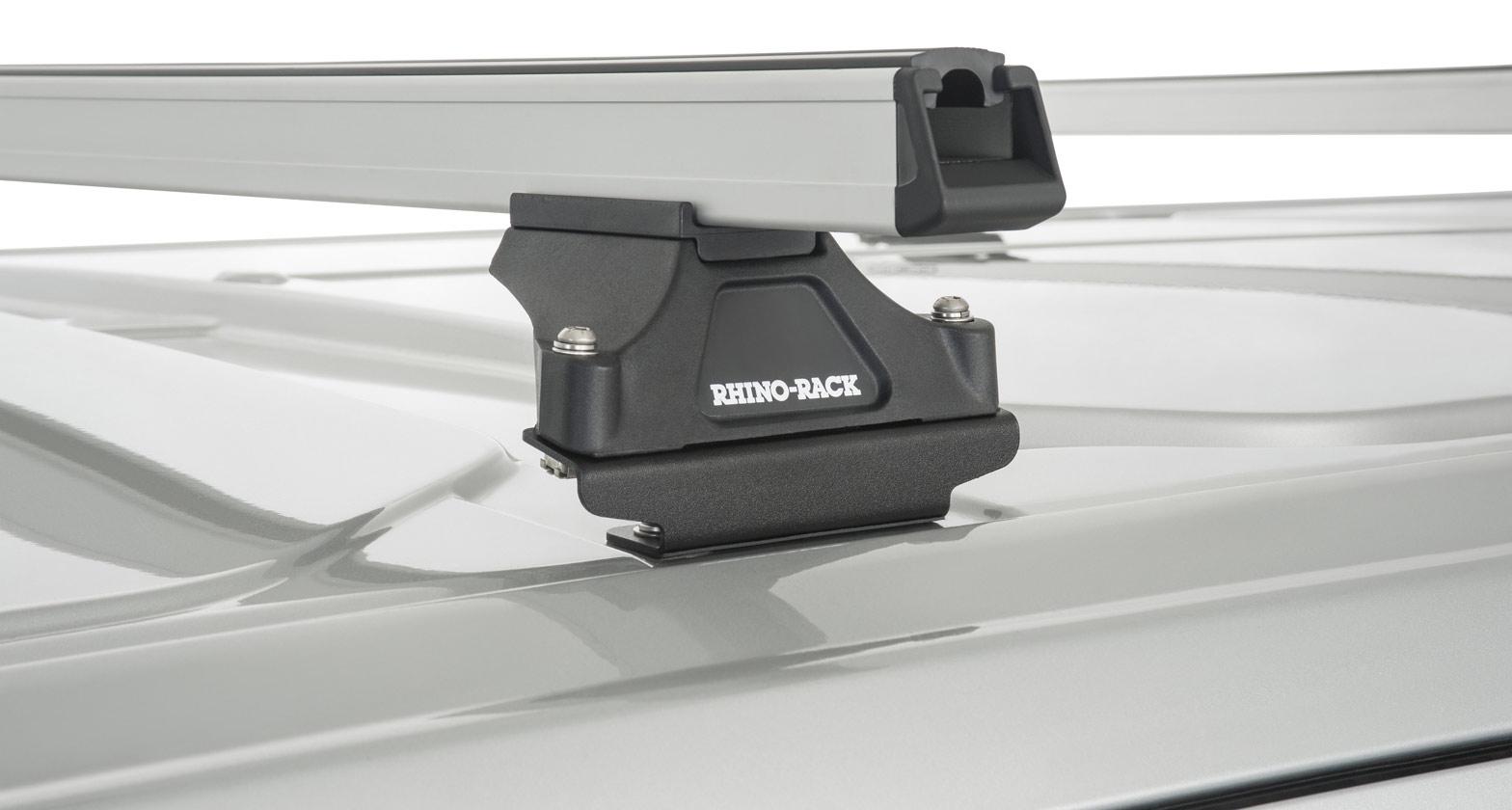 Ja5419 Heavy Duty Rltp Silver 3 Bar Roof Rack Rhino Rack