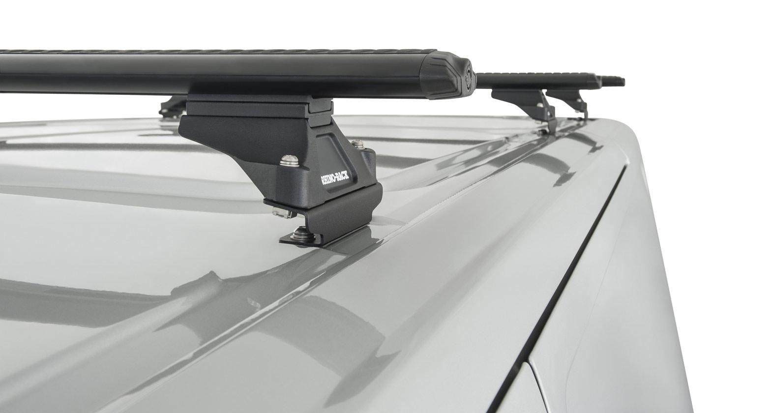 Ja5417 Vortex Rltp Black 3 Bar Roof Rack Rhino Rack