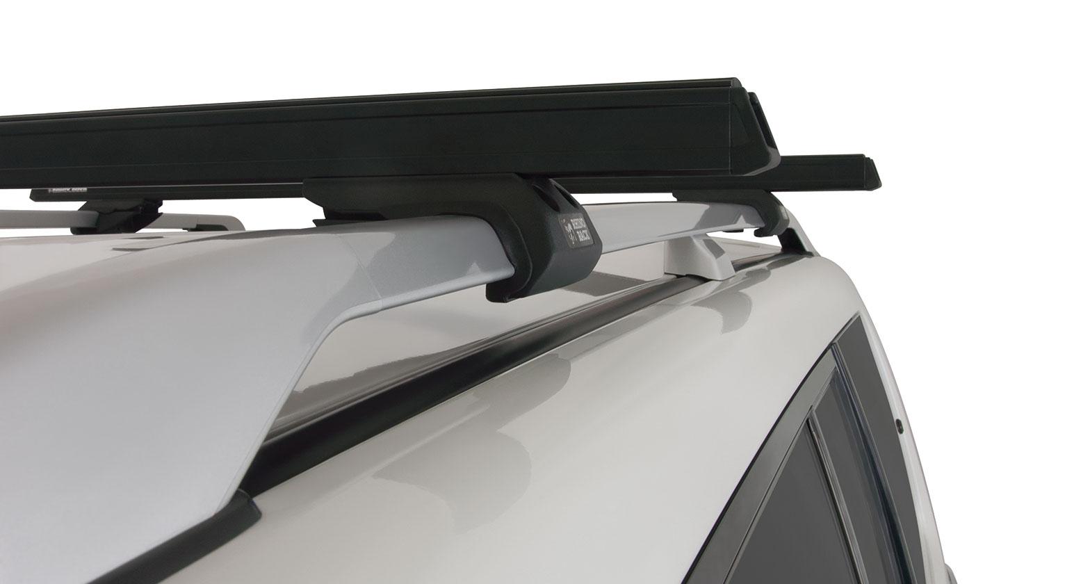 Ja0629 Heavy Duty Cxb Black 2 Bar Roof Rack Rhino Rack