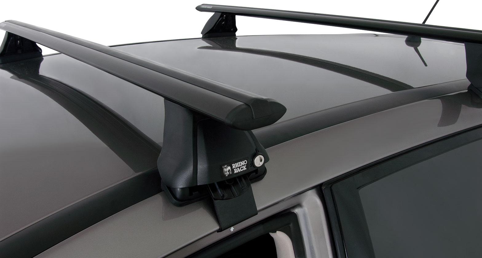 Nissan Dealers In Va >> #JA2524 - Vortex 2500 Black 2 Bar Roof Rack | Rhino-Rack