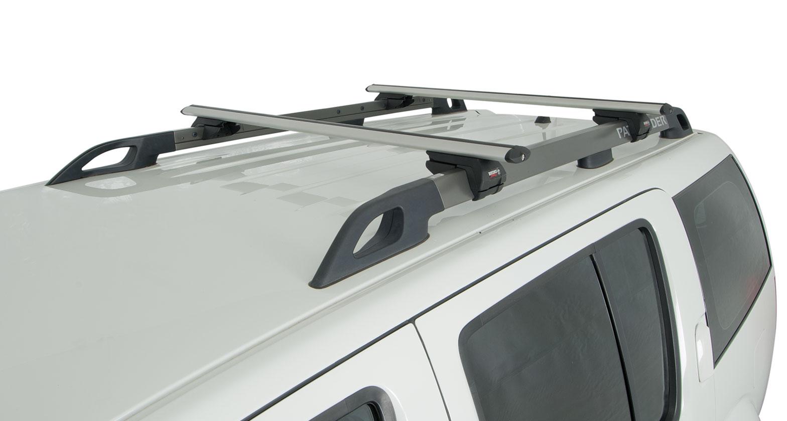 Nissan Dealers In Va >> #JA2078 - Vortex SX Silver 2 Bar Roof Rack | Rhino-Rack