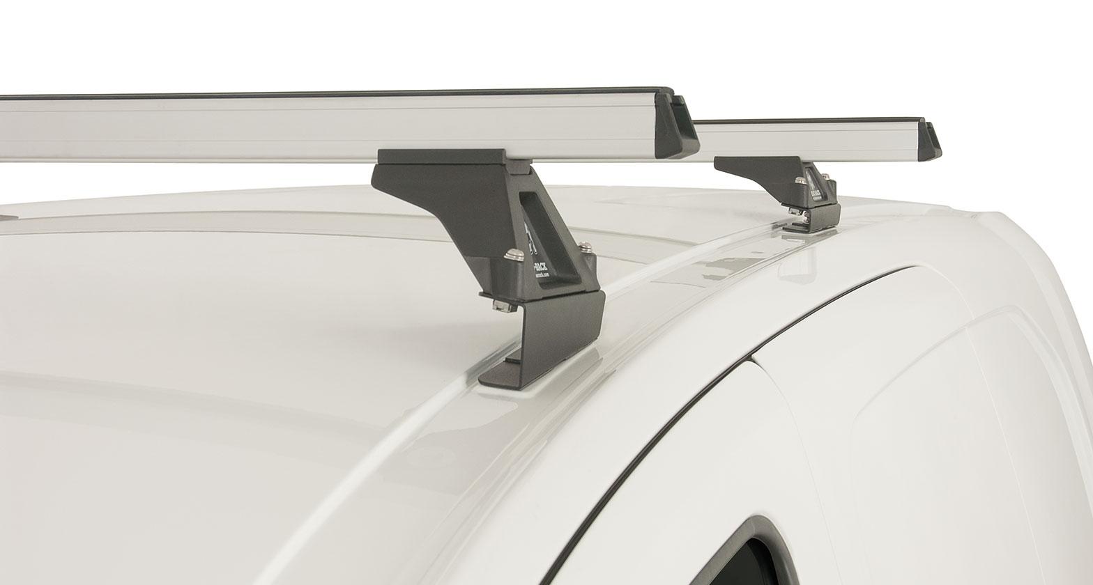 Ja0745 Heavy Duty Rltf Silver 2 Bar Roof Rack Rhino Rack