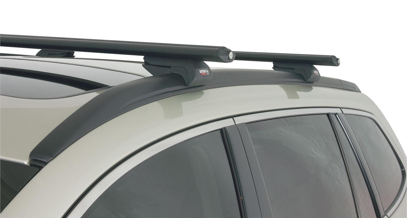 Subaru Dealers Va >> #JA2265 - Vortex SX Black 2 Bar Roof Rack | Rhino-Rack