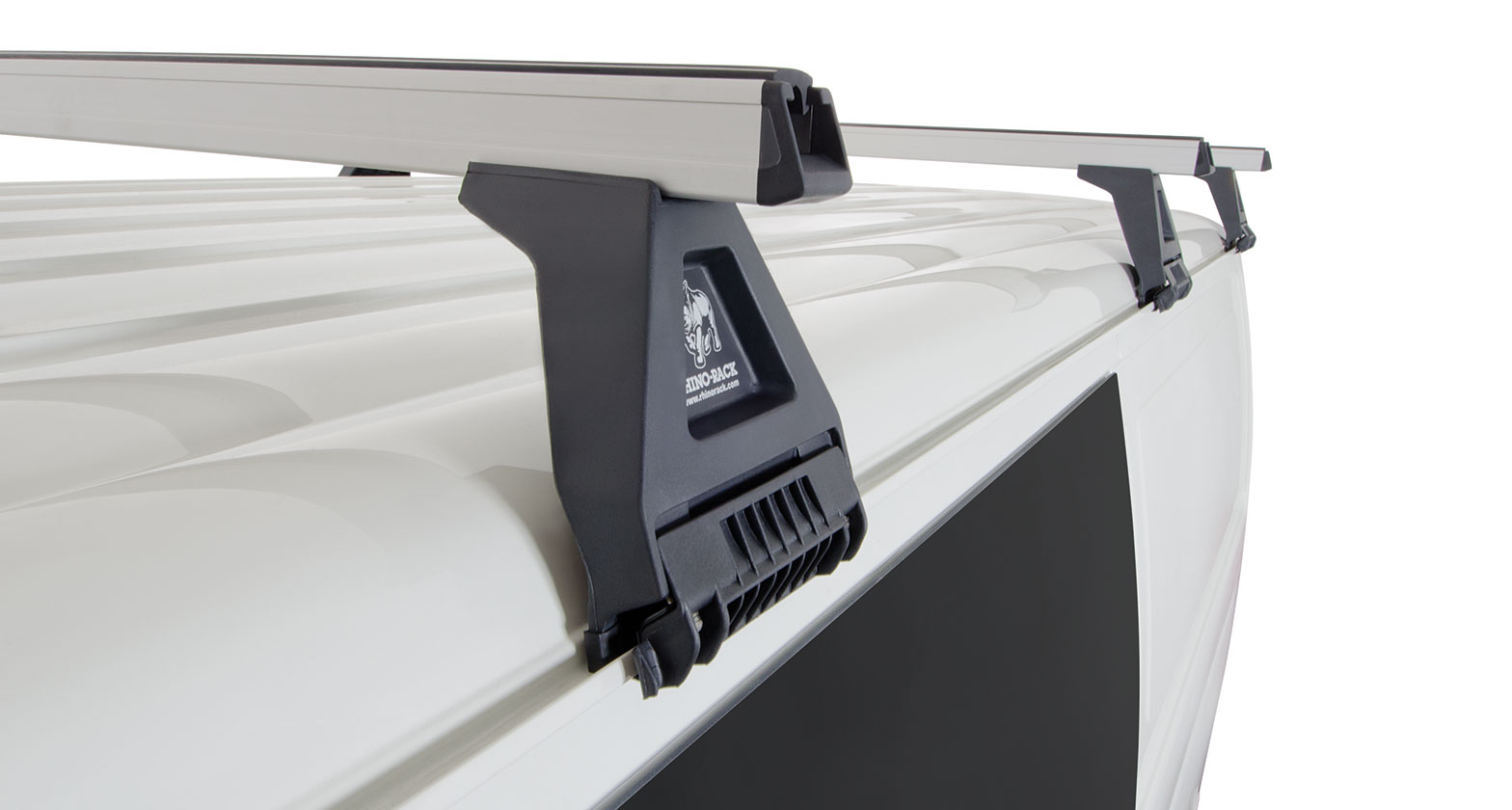 Ja0902 Heavy Duty Rl150 Silver 3 Bar Roof Rack Rhino Rack