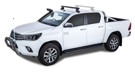 Heavy Duty 2500 Black 1 Bar Roof Rack (Front)