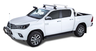 Heavy Duty 2500 Silver 1 Bar Roof Rack (Front)