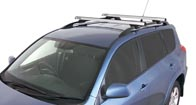 Heavy Duty CXB Silver 2 Bar Roof Rack
