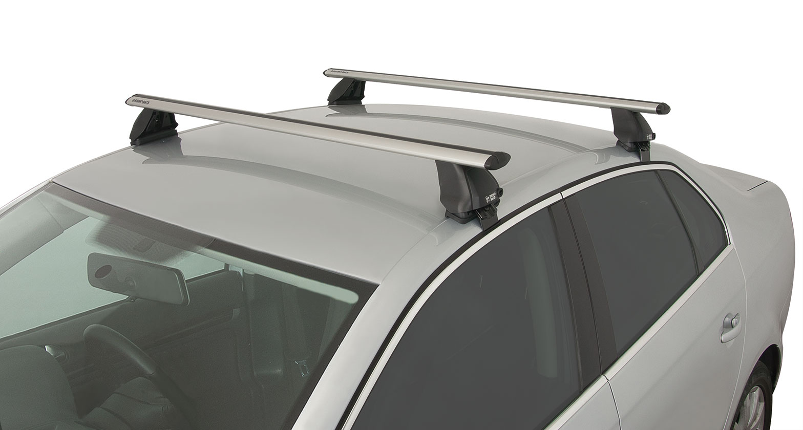 Ja2341 Vortex 2500 Silver 2 Bar Roof Rack Rhino Rack