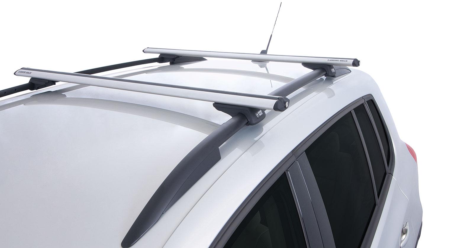 Ja2081 Vortex Sx Silver 2 Bar Roof Rack Rhino Rack