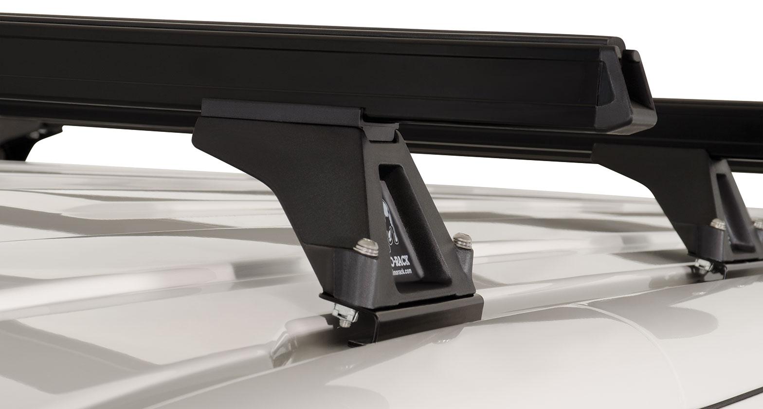 Ja0844 Heavy Duty Rltf Black 4 Bar Roof Rack Rhino Rack